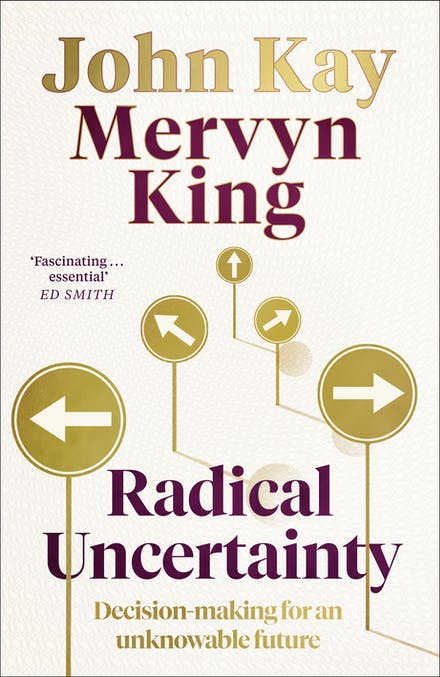 Radical Uncertainty book cover